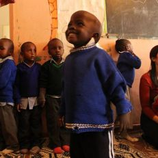 ioga na africa paz