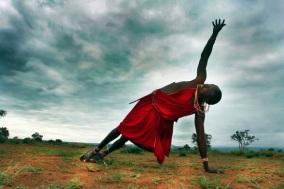 ioga na áfrica de graça