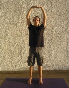 parvatasana em tadasana serie de yoga detox