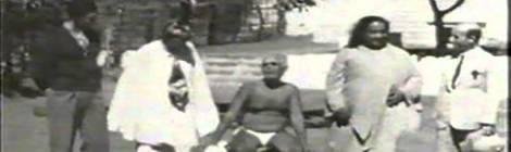 Registro da visita de Yogananda e Paul Brunton a Ramana Maharshi