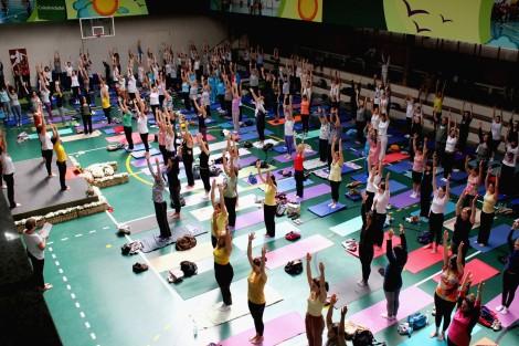 Cursos e Eventos-Encontro de Yoga nos Sesc Santo André e São Caetano