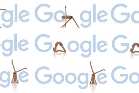 Notícia-BKS Iyengar, mestre de Yoga, recebe homenagem do Google em 97° aniversário