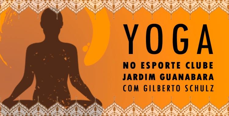 Yoga com Gilberto Schulz no Esporte Clube Jardim Guanabara