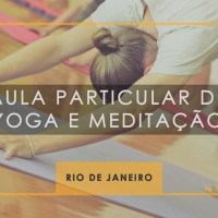 Programa de aula particular de Yoga e Meditação