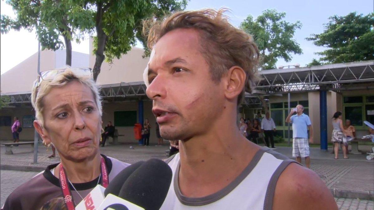Notícia | Sobrevivente de desabamento no Rio diz que técnica de Yoga o ajudou